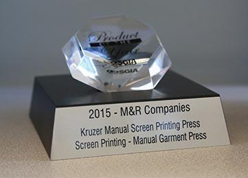 Kruzer Manual Press 2015 Product of the Year Award