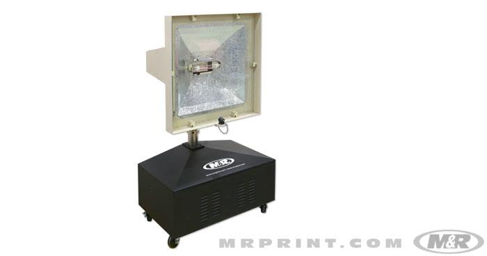 6K and 3K Metal-Halide Screen Printing Lamps