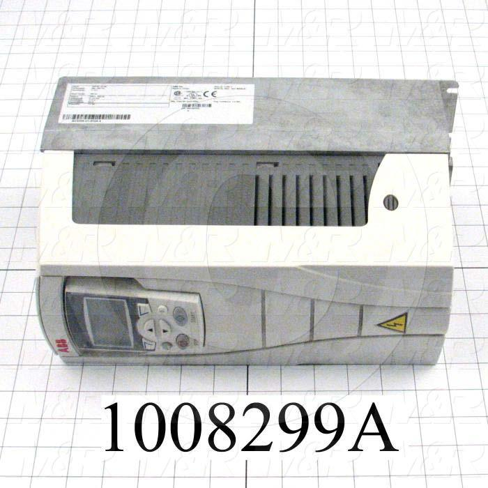 AC Drive, ACS-550 Series, 5.6KW (7.5HP), 380/400/415/440/460/480V, 3 Phase