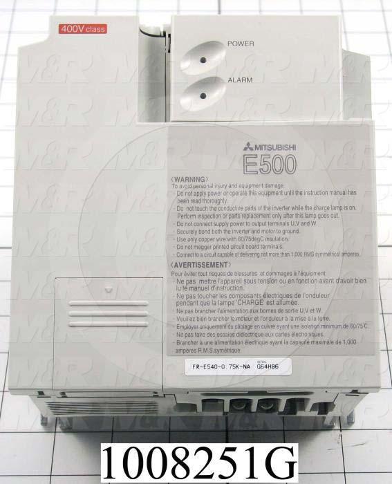 AC Drive, E540 Series, 0.75KW (1HP)