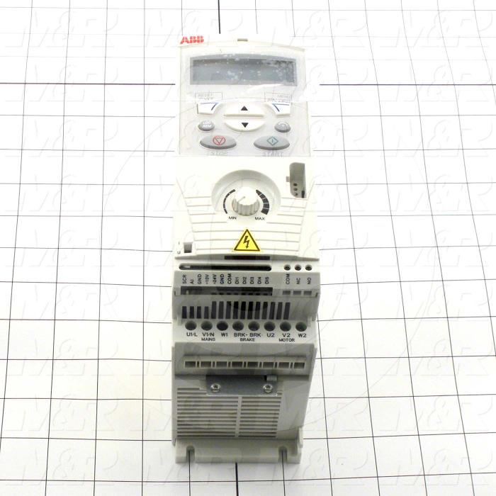 AC Drive, FR-S510WE Series, 0.37KW (1/2HP), 208-230VAC