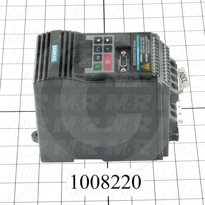 AC Drive, Micro Master Servo, FR-S510WE Series, 0.37KW (1/2HP), 208-230VAC