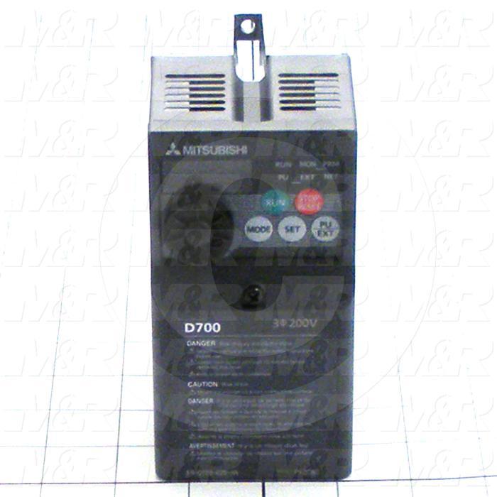 AC Drive, S520 Series, 0.2KW (1/4HP), 220VAC