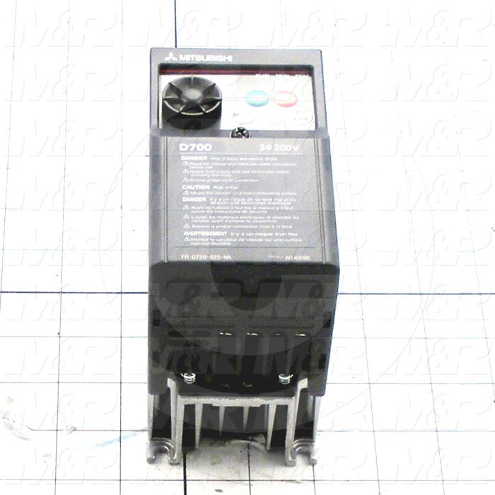 AC Drive, S520 Series, 0.75KW (1HP), 208-230VAC, 230VAC Output