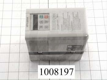 AC Drive, U110W Series, 0.4KW, 115VAC, 1 Phase, 230VAC Output