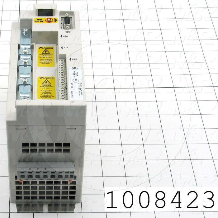 AC Drive, Vector Drive, FR-S510WE Series, 0.37KW (1/2HP), 1 Phase, 230VAC Output