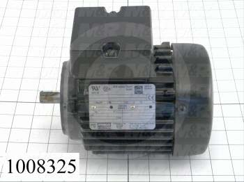 AC Motor, 0.6HP, 71MM Frame, 230/460VAC, 3 Phase