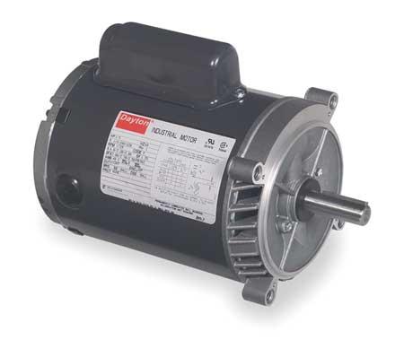 AC Motor, 1/3HP, 56C Frame, 1725 RPM, 115/208-230VAC, 1 Phase, 60Hz, 6.0/3.2-3.0A
