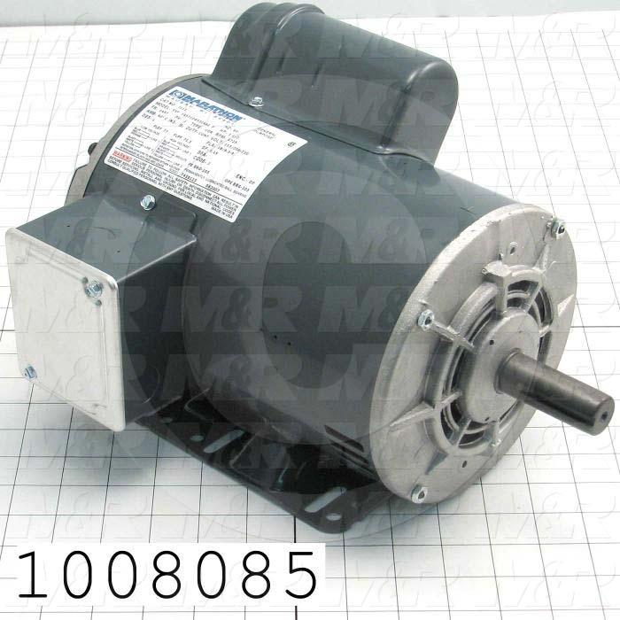 AC Motor, 1.5HP, 1725 RPM, 115/208-230VAC