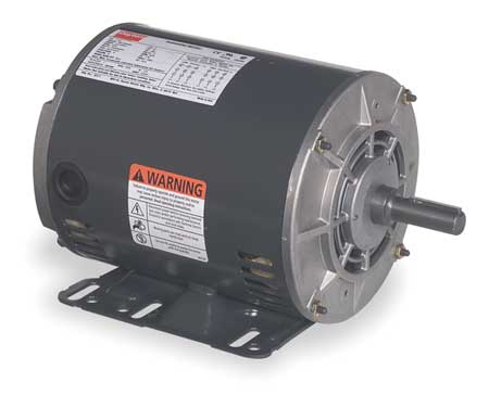 AC Motor, 1HP, 1725 RPM, 208-230/460VAC, 60Hz