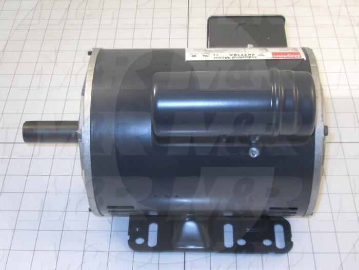 AC Motor, 1HP, 56 Frame, 1725 RPM, 115/208-230VAC