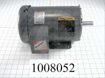 AC Motor, 2HP, 1725 RPM, 380VAC, 3 Phase, 50Hz
