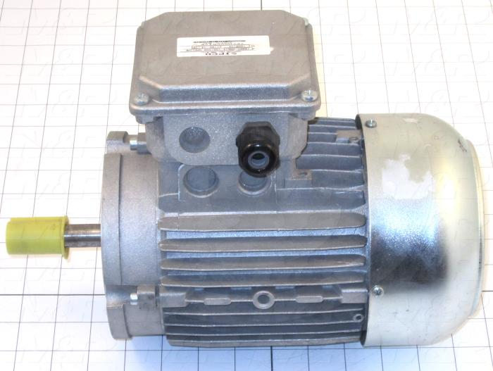 AC Motor, 3/4HP, 1200 RPM, 230/460VAC, 3 Phase, 60Hz, 6 Poles