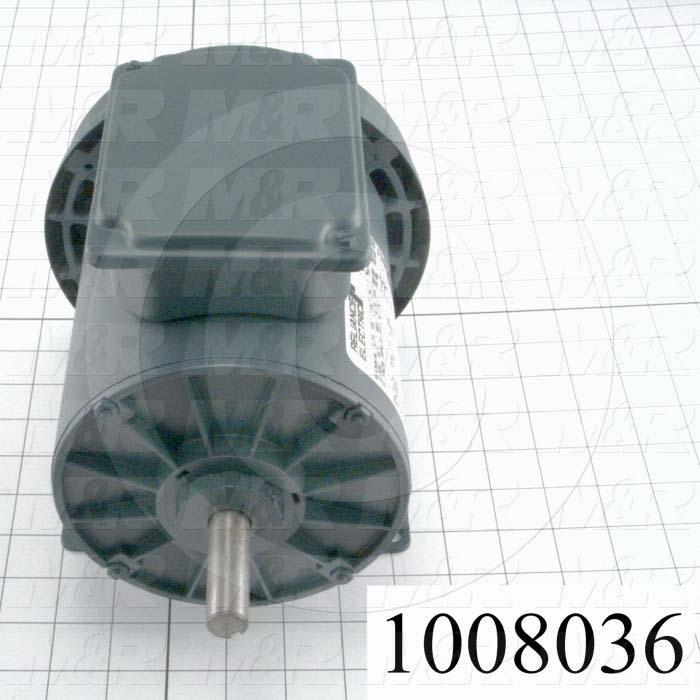 AC Motor, 3/4HP, 1725 RPM, 208-230VAC, 3 Phase