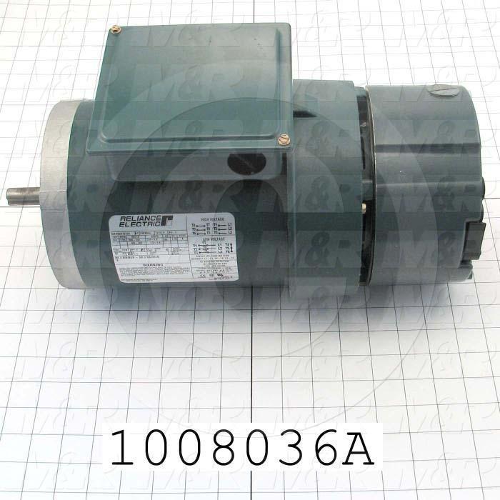 AC Motor, 3/4HP, 56C Frame, 1725 RPM, 208-230VAC, 50/60Hz