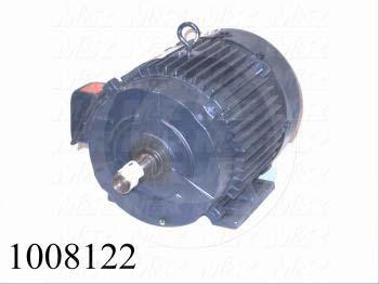 AC Motor, 7.5HP, 213T Frame, 1725 RPM, 208-230/460VAC, 3 Phase