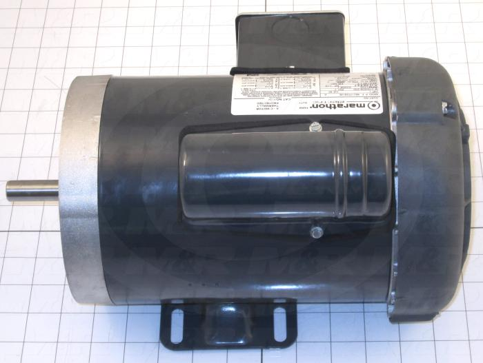 "AC Motor, Open Drip Proof, 3/4HP, 56C Frame, 1425/1725 RPM, 115/208-230VAC, 1 Phase, 50/60Hz, With Junction Box, 5/8"" Shaft"