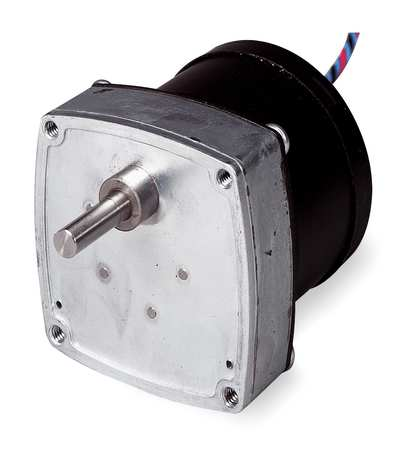 "AC Motor, Parallel Shaft, 2.6 Inch Pounds, 60 RPM, 115VAC, 1 Phase, 60Hz, 1/4"" Shaft"