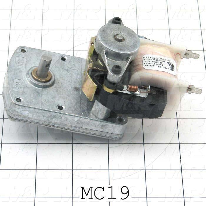 AC Motor, Shutter Motor, 220V, 60Hz