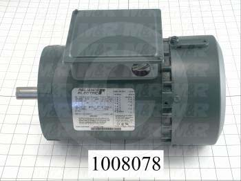 AC Motor, With Brake, 1.5HP, 145T Frame, 1725 RPM, 208-230/460VAC, 3 Phase