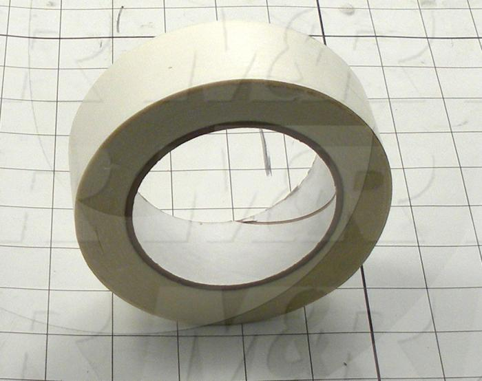 "Adhesives & Seals, Carpet Tape, 1.50"" Width, Mylar Material, Clear Color"