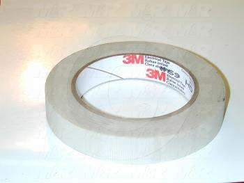 "Adhesives & Seals, High Temperature Tape, 3/4"" x 108', White Color"