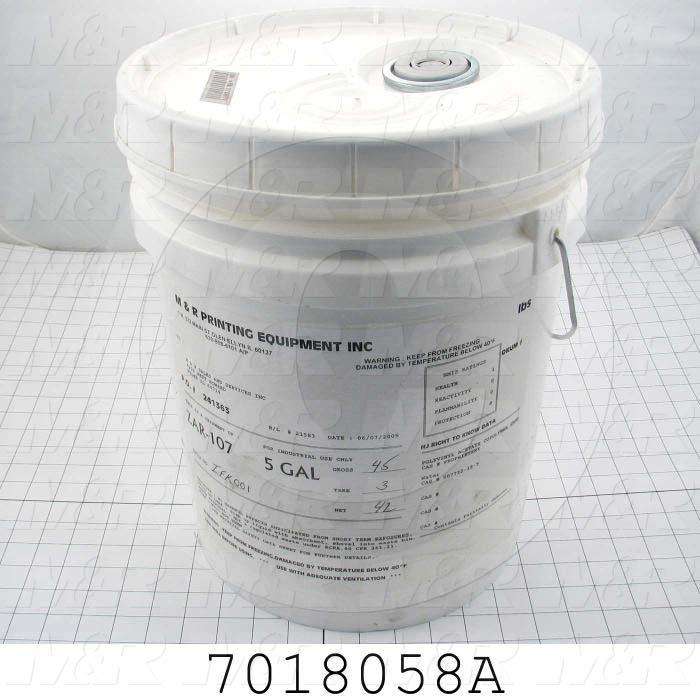 Adhesives & Seals, Silicone Material, 5 Gallon For Kool Mist, White Color