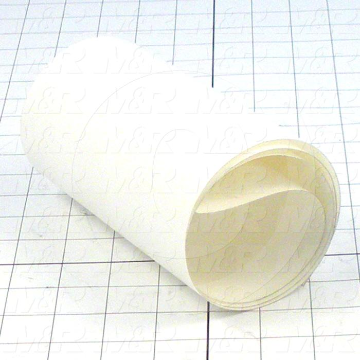 "Adhesives & Seals, UHMW Adhesive Backed Tape, 13.00"" Width, 0.010"" Thickness, UHMW Material, Clear Color"