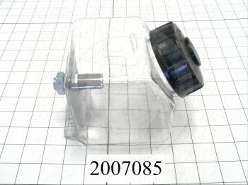 Adjustable-Flow Oil Reservoir, Capacity 1 Qt, Note : Square Polycarbonate