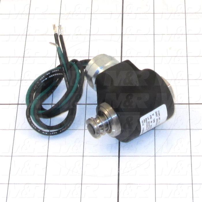 Adjustable-Flow Oil Reservoir, Type : Solenoid 120 VAC,60HZ, Note : Solenoid For Part # 2020025