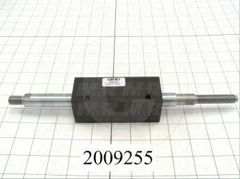 "Air Cylinders, Double Rod Type, Standard NFPA, 3/8-24 UNF Rod Thread, Double Acting Model, 1 3/8"" Bore, 3/4"" Stroke"