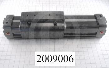 "Air Cylinders, Rod Less Type, Double Acting Model, 63 mm Bore, 5 1/4"" Stroke, Index Cylinder Function, BC225 Special"