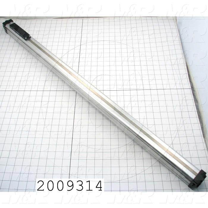 "Air Cylinders, Rod Less Type, Standard NFPA, Double Acting Model, 1"" Bore, 33"" Stroke"