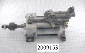 "Air Cylinders, Rod Type, Double Acting Model, 5"" Bore, 5"" Stroke, Index Cylinder Function"