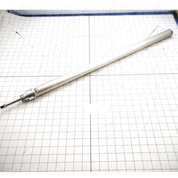 "Air Cylinders, Rod Type, Single Acting Model, 1 1/8"" Bore, 25"" Stroke"