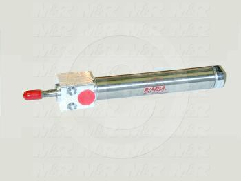 "Air Cylinders, Rod Type, Standard NFPA, 1/2-20 UNF Rod Thread, Single Acting Model, 3/4"" Bore, 2"" Stroke, Both Ends Cushion"