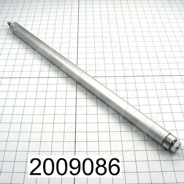 "Air Cylinders, Rod Type, Standard NFPA, 5/16-24 UNF Rod Thread, Double Acting Model, 1 1/8"" Bore, 21"" Stroke"