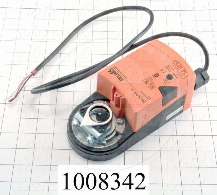 "Air Damper Actuator, 24V AC/DC, 2 To 10VDC, 4 To 20mA Control Signal, Min. 160 in-lb, Reversible With Switch ""CCW-CW"""