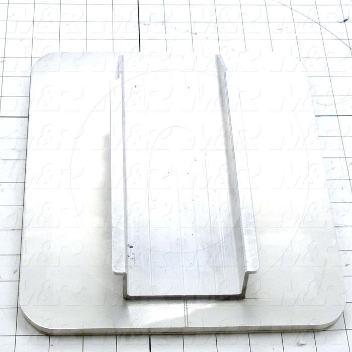 Aluminum Pallets, Width 10.00 in., Length 12.00 in.