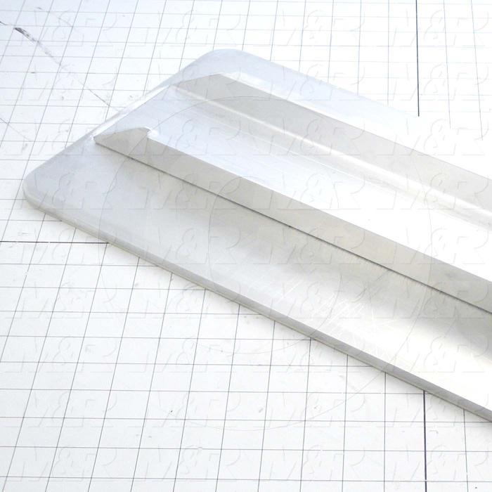 Aluminum Pallets, Width 10.00 in., Length 22.00 in.