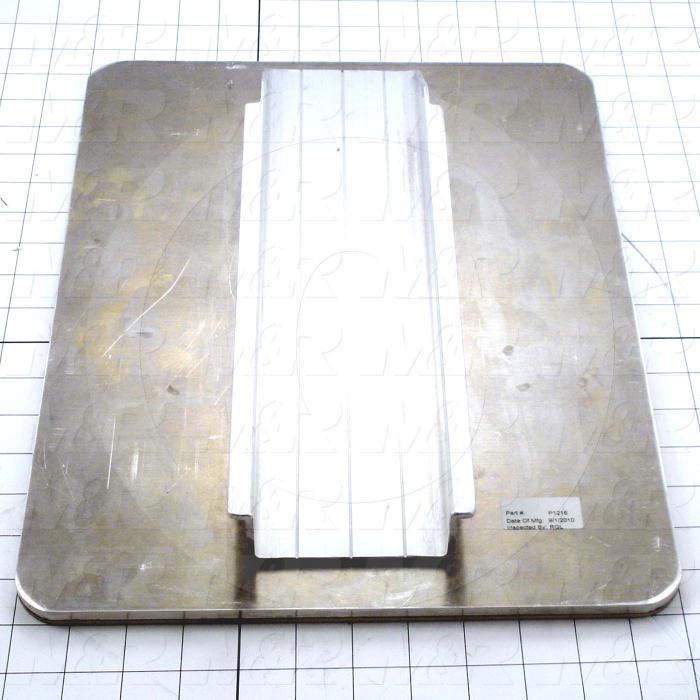 Aluminum Pallets, Width 12.00 in., Length 16.00 in.