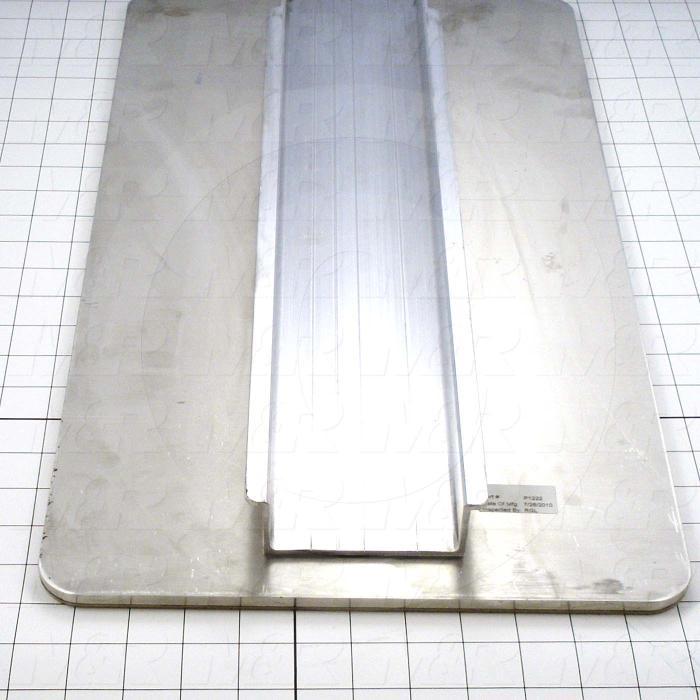 Aluminum Pallets, Width 12.00 in., Length 22.00 in.