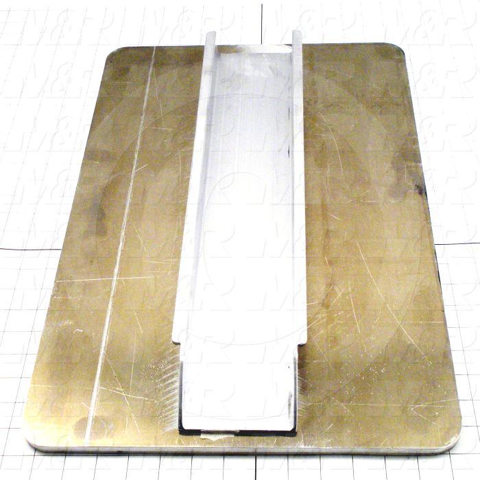 Aluminum Pallets, Width 14.00 in., Length 22.00 in.
