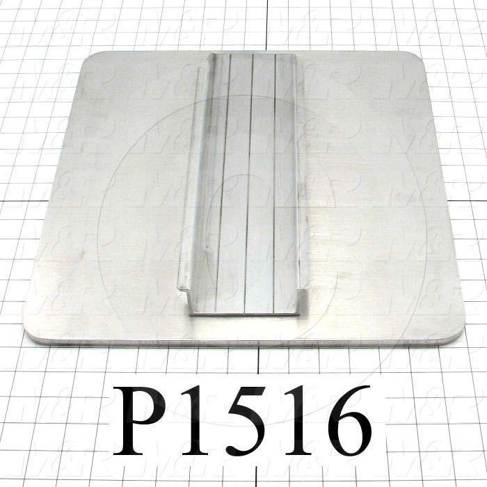 Aluminum Pallets, Width 15.00 in., Length 16.00 in.