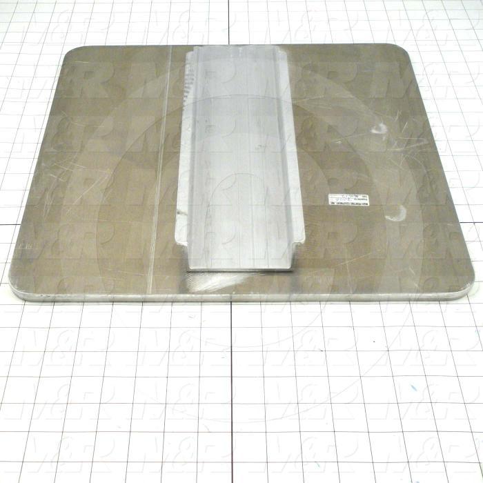 Aluminum Pallets, Width 16.00 in., Length 16.00 in.