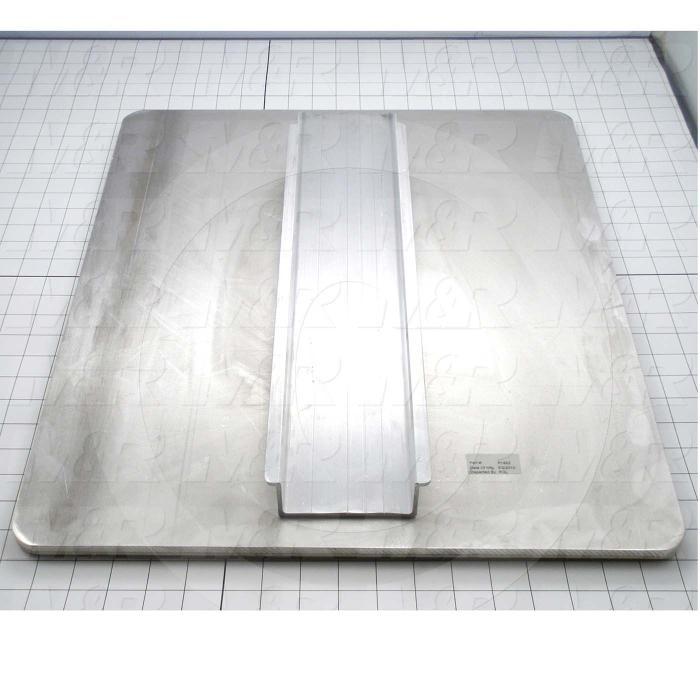Aluminum Pallets, Width 18.00 in., Length 22.00 in.