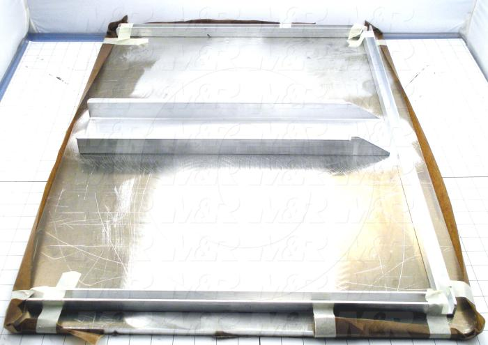 Aluminum Pallets, Width 30.00 in., Length 22.00 in.