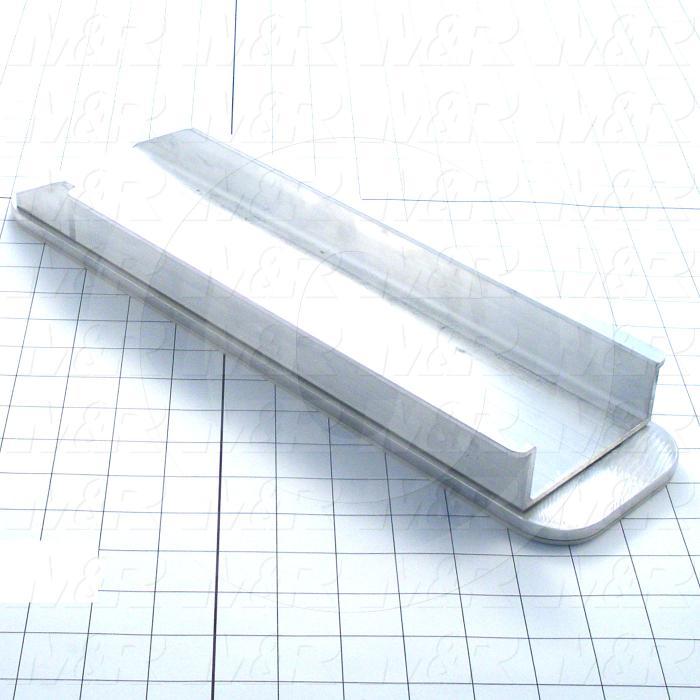 Aluminum Pallets, Width 4.00 in., Length 16.00 in.
