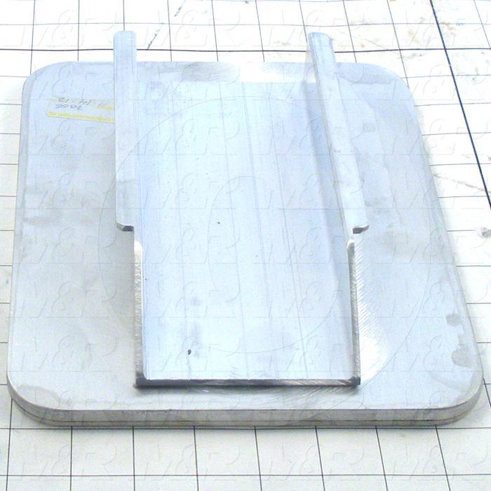 Aluminum Pallets, Width 8.00 in., Length 10.00 in.