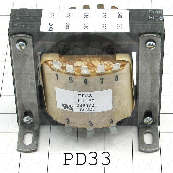 Autotransformer, 1.2KW, 240V, 50/60Hz